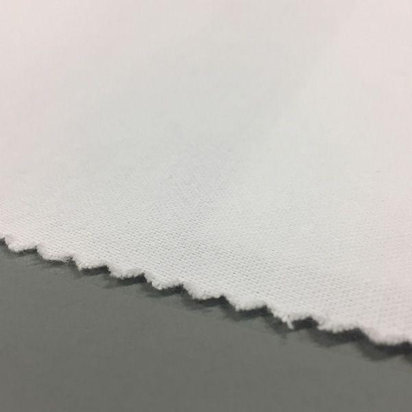 Molton voering offwhite gladde zijde