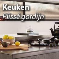 plissegordijnen voor de keuken