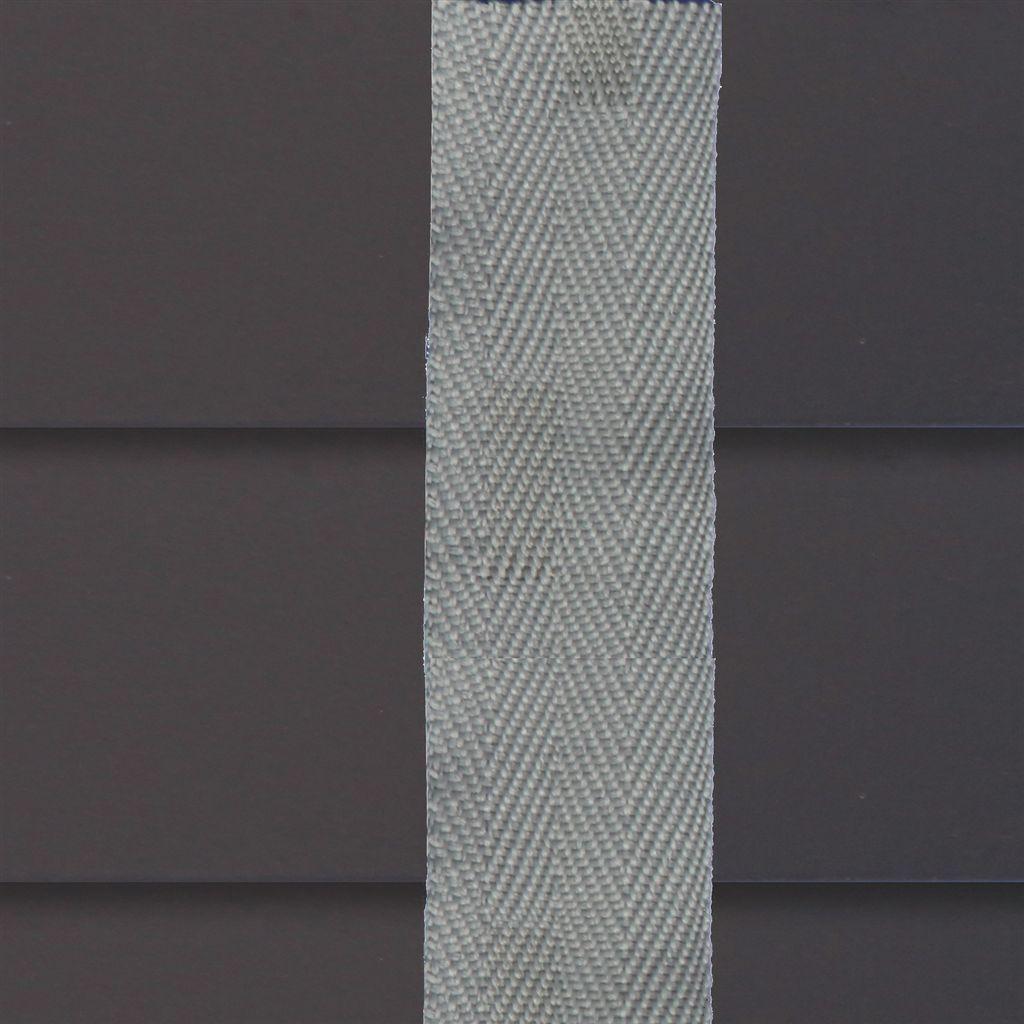 Houten jaloezie ladderband contrast