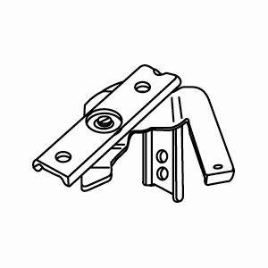 Schaarsteun 35-50mm aluminium
