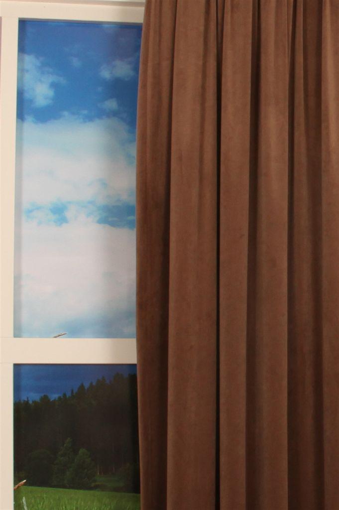 Silky Velours bruin