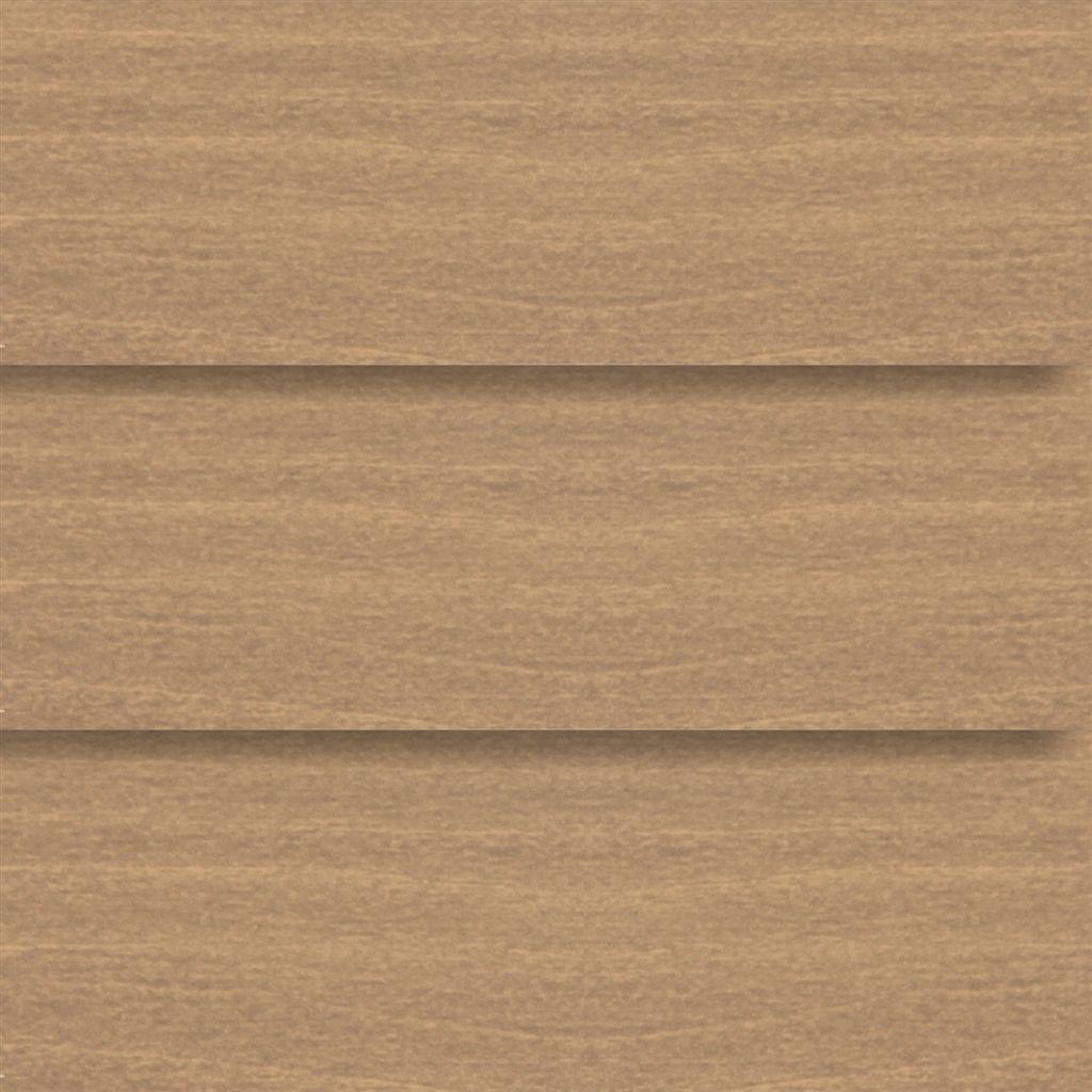 Houten jaloezie 50mm asgrijs hout for Raamdecoratie hout