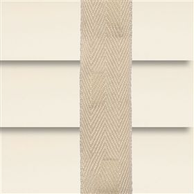 Aluminium jaloezie 50mm naturel met ladderband beige